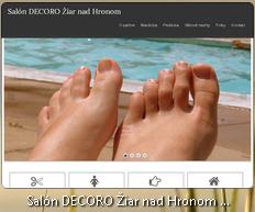 Projekt salón DECORO