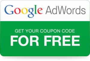 Kupón Google Adwords bezplatný kupón na 75€